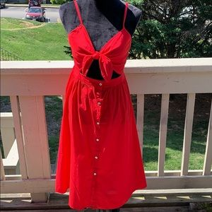 Red GB summer dress